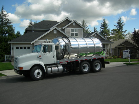 Express Septic Truck