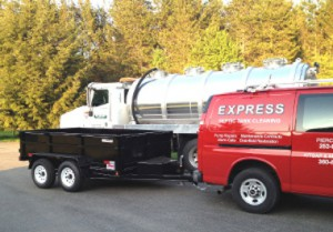 Express Septic Trucks and Trailer